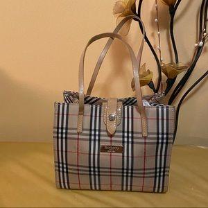 Burberry Blue Label Mini Tote Bag